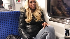 The train whore! Paul's most perverted experience! DAYNIA